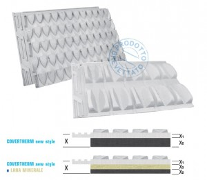 COVERTHERM new style COPPI – EPS WHITE o NEW REXPOL e LANA MINERALE