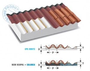 REXCOPPO mod. 1 - eps WHITE o NEW REXPOL o COLOREX